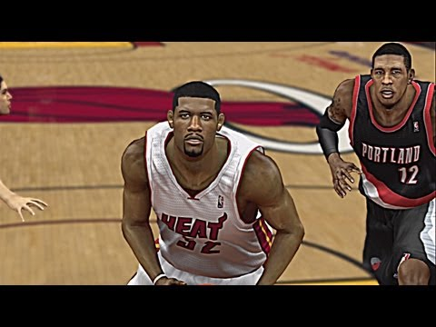 NBA 2K13 - Greg Oden On The Miami Heat