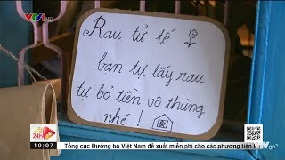 Quầy rau tử tế ở Đà Lạt: Tự mua hàng, tự trả tiền  VTV24