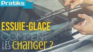 Comment changer ses essuie-glace de voiture (modèle en U) ?