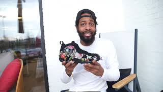 """Nike Air Foamposite One """"Floral"""" """"Valentine's Day"""" Release (Dope or Nope) + On Foot"""