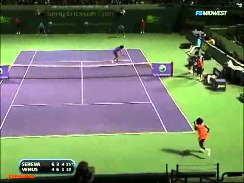 Serena Williams vs Venus Williams 2009 Miami Highlights