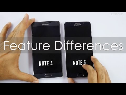 Samsung Galaxy Note 5 VS Note 4 Hardware Differences