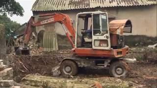 Máy xúc HITACHI, máy xúc đất