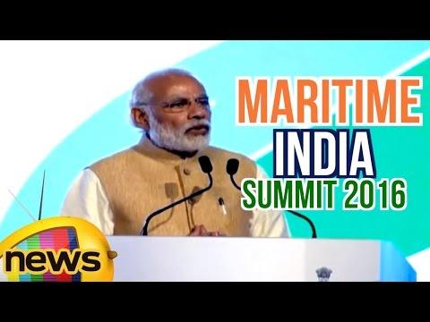 PM Narendra Modi's inaugural Speech at Maritime India Summit in Mumbai | Mango News
