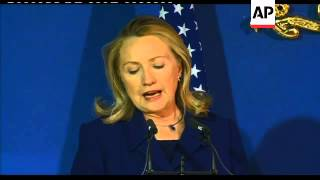 Clinton on Syria, Afghanistan, Egypt trial of 16 Americans