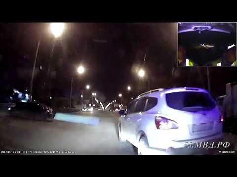 Задержан водитель, пытавшийся скрыться от полицейских