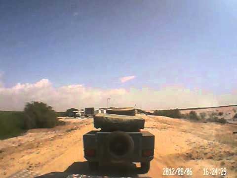 Dash cam video of Nouakchott (Mauritania) to St Louis (Senegal) - Part 5