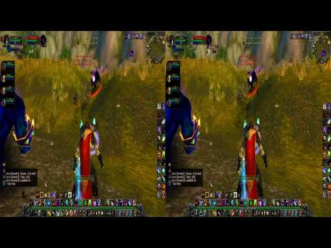 World of  Warcraft  in 3D - Review - shown in S3D - 1080P - [HD]