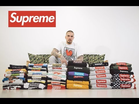 Selling the Worlds Largest Supreme Box Logo Collection