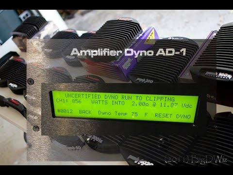 SMD Amp Dyno vs 1993 Rockford Fosgate Punch 200 DSM WOW!!