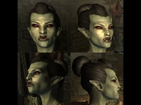 "Skyrim : How To Make A ""Hot"" Orc.... (NO MODS) 