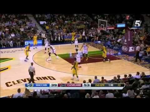Cleveland Cavaliers - Maccabi Electra Tel Aviv 107:80