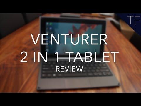 Venturer 2 In 1 Notebook Tablet : Full Review