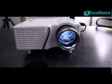New Mini LED Multimedia Projector White
