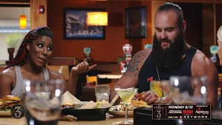 Ember Moon and Braun Strowman recall wearing Alexa Bliss' clothes: Table for 3 sneak peek