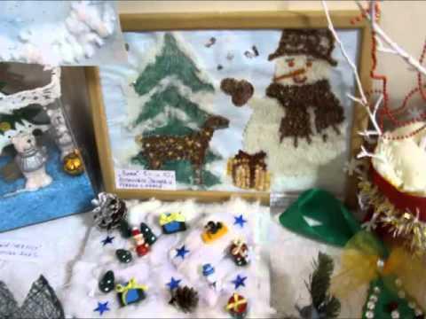 Конкурс зимних поделок в детском саду