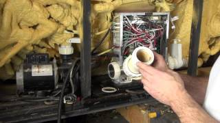 How To Replace Leaking Hot Tub Heater Union Gaskets The Spa Guy