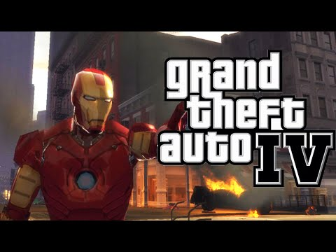 Como Instalar O Mod Homem De Ferro (Iron Man) No GTA IV