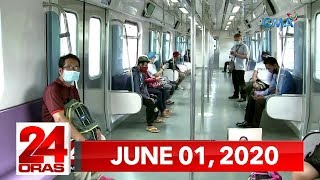 24 Oras Express: June 1, 2020 [HD]