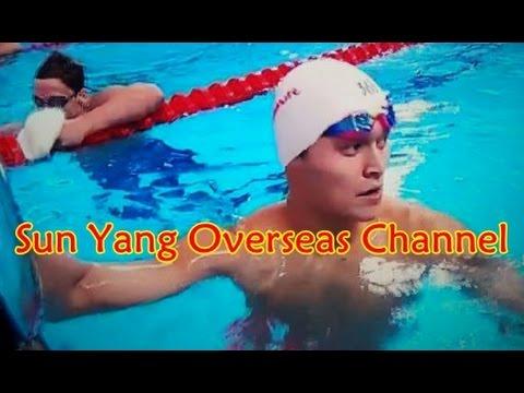【SunYang】men's swimming 400mfr heat 6 in FINA World Championships 2015(Eng Sub)