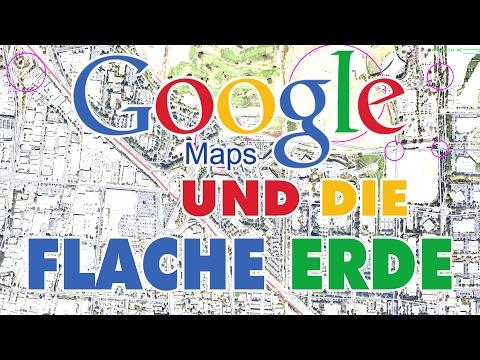 Google Maps, Satelliten und die flache Erde!