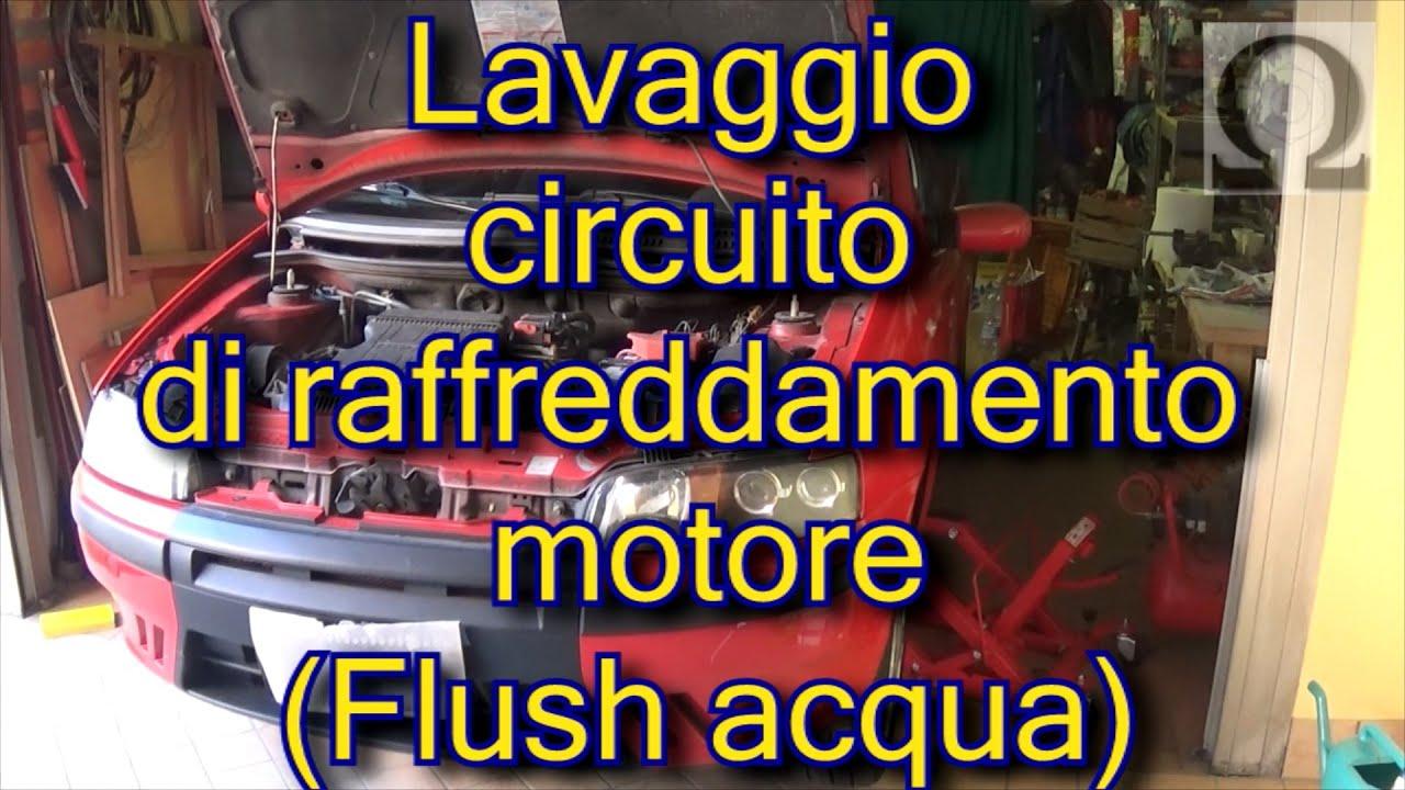 Tutorial lavaggio circuito di raffreddamento motore Fiat Punto mk188