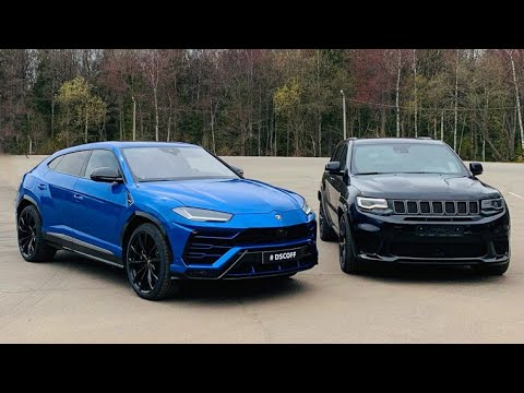 Jeep TRACKHAWK vs Lamborghini URUS. Волга КГБ!