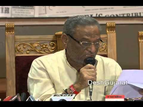 Dinsha Patel briefs media persons on revamped Sardar Patel Memorial's inauguration programme