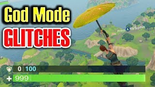 God Mode GLITCHES in Fortnite Battle Royale