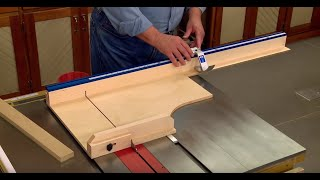 Maybe the Best Table Saw Crosscut Sled Ever?