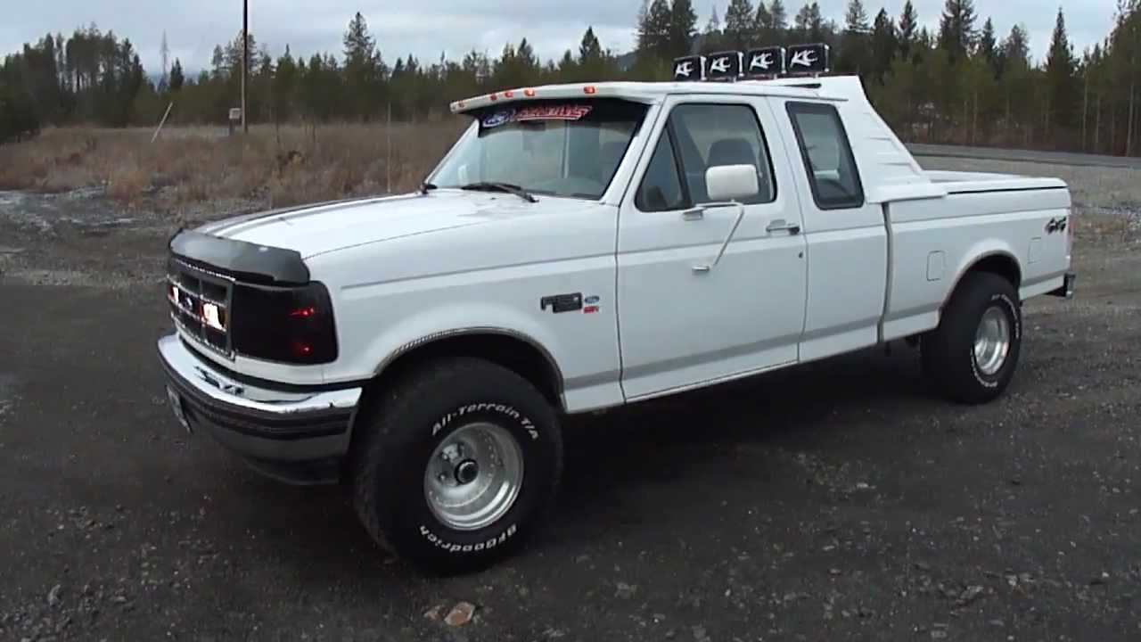 My 1995 Ford F 150 Xlt 4x4 Quot Whitesnake Quot Part 2 Youtube