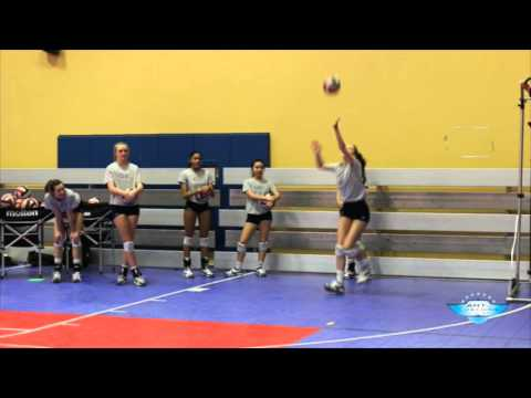 AVCA Video Tip of the Week: 2 vs 1 Sideout Drill