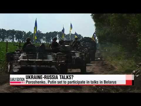 Poroshenko, Putin set to meet in Belarus   러-우크라이나 대통령, 26일 회동 가능성 관심