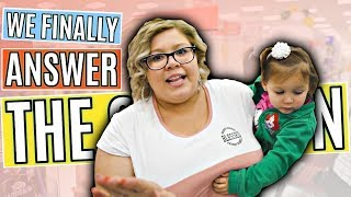 WE ANSWER THE BIG QUESTION! | Hispanic Family Vloggers