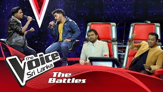 The Battles : Binara V Shehan  | Abhi Ja Abhi Ja | Saragi Asille | The Voice Sri Lanka