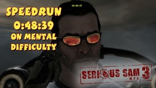 Serious Sam 3: BFE - SpeedRun - 0:48:39 (Mental Difficulty)