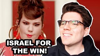 NETTA - TOY REACTION EUROVISION 2018 ISRAEL
