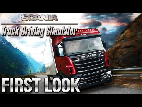 Scania Truck Driving Simulator - First Look