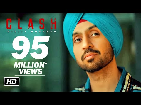 Diljit Dosanjh: CLASH (Official) Music Video | G.O.A.T.
