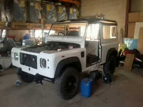 Land Rover 90 Restoration Youtube