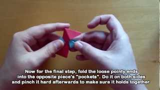 Origami Shuriken - Ninja Star Tutorial