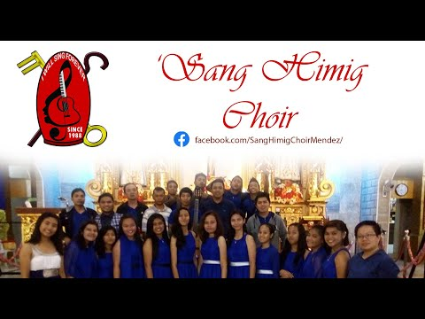 A Marian Song sung by the 'Sang Himig Choir of Mendez, Cavite Chapter during their Bible Mass Service at Trece Martirez City.
