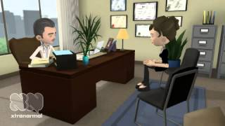 A doctor starts the patient Interview