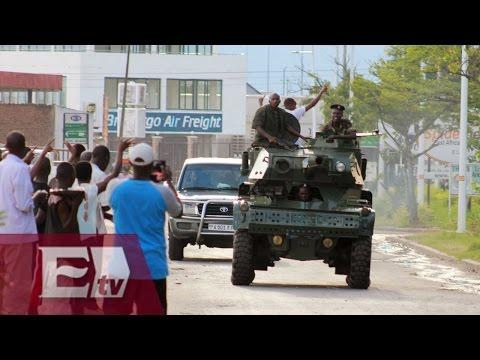 África: tensión en Burundi ante posible golpe de Estado/ Global