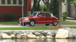 1972 Citroen DS 21 Yes, we go for a ride.