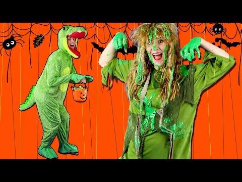 Let's Get Spooky! Kids Halloween Song | Halloween Songs for Children