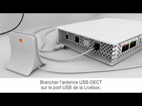 Orange assistance livephone branchement de l 39 antenne for Antenne wifi exterieur usb