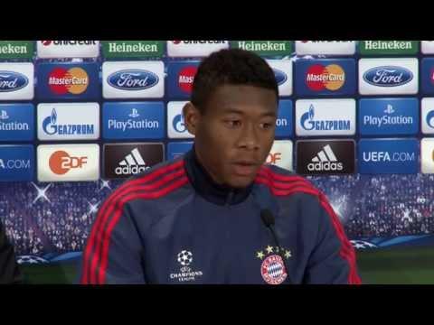 David Alaba: Kein Fan von Pressekonferenzen | FC Bayern München - Real Madrid