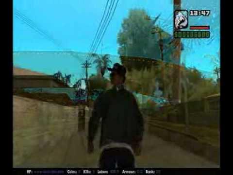 Eazy-E GTA SA Gangsta Life (R.I.P.) Music Video.3gp