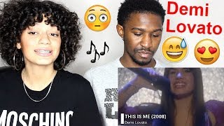 Demi Lovato Music Video EVOLUTION 2004-2018 REACTION!! Jaz & Alex